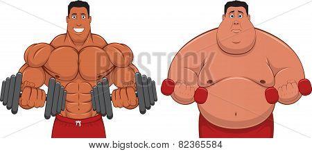 Spotsmen and fatso