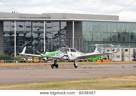 Algae Powered Plane