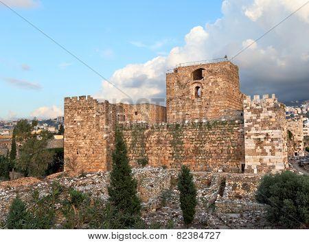 Byblos Crusader Castle
