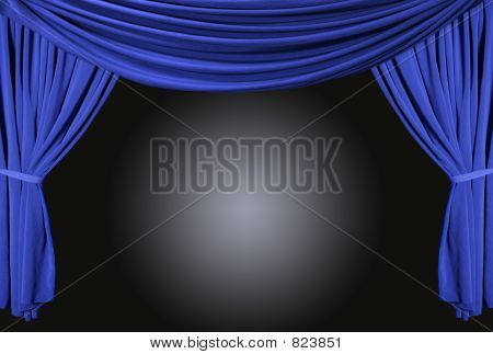 Draped Stage