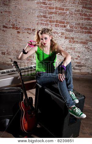 Young Punk Rocker