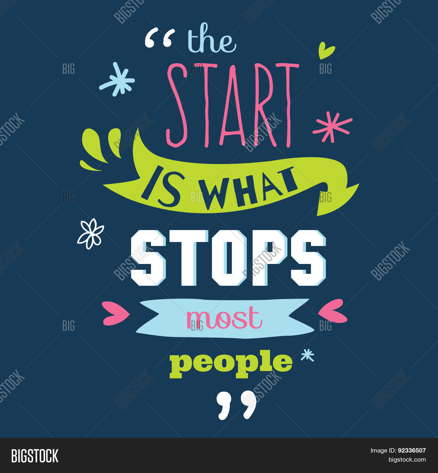 Inspirational Vector Photo Free Trial Bigstock