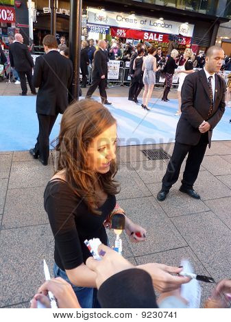 Madeline Duggan At The Death And Life Of Charlie St Cloud Premiere In Central London 16Th September