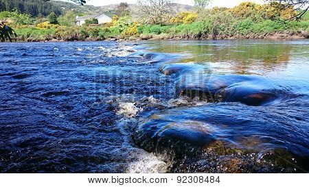 Babbling Calm Highland River