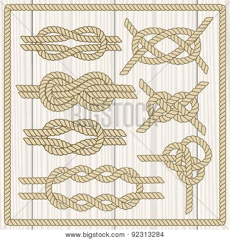 Sailor knot set.