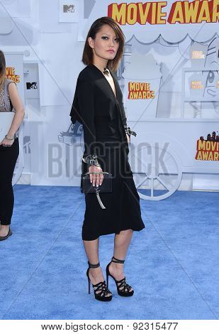 LOS ANGELES - APR 12:  Hana Mae Lee  arrives to the MTV Movie Awards 2015  on April 12, 2015 in Hollywood, CA