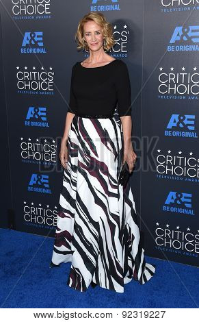 LOS ANGELES - MAY 31:  Janet McTeer arrives to the Critic's Choice Television Awards 2015  on May 31, 2015 in Hollywood, CA