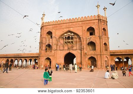 Jama Masjid Gate, Delhi, India