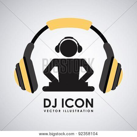 dj icon design
