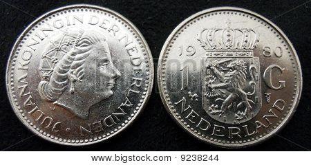 1980 Nederland 1G coin