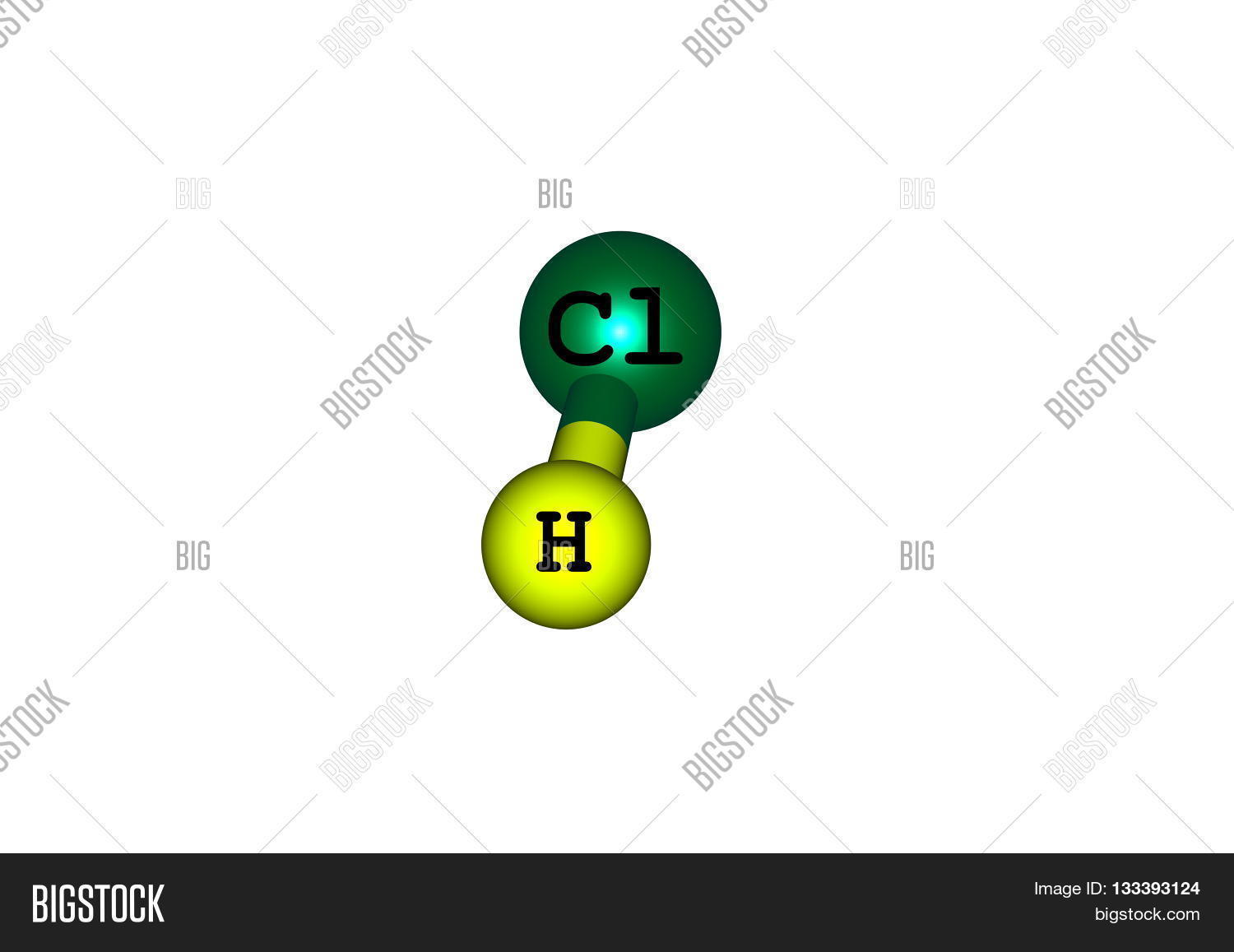 Compound Hydrogen Image Photo Free Trial Bigstock