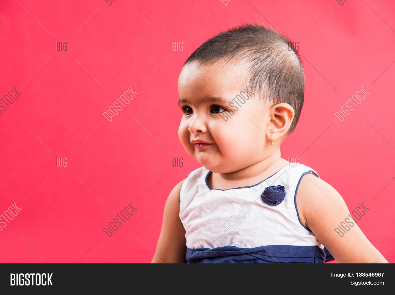 portrait cute indian image & photo (free trial) | bigstock