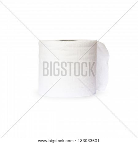 tissue paper isolated on white color backgrond