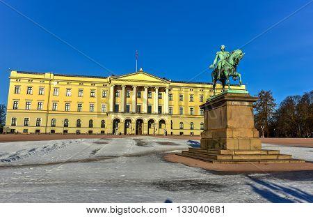 Royal Palace Of Oslo