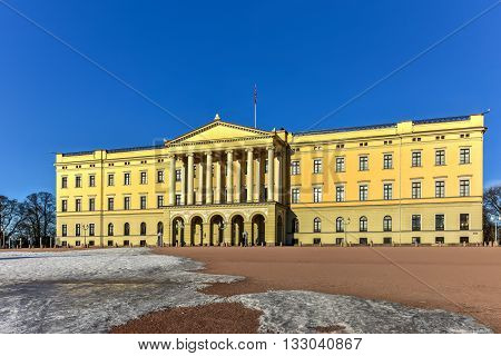 Royal Palace Of Oslo