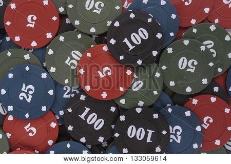 Poker Casino Chips