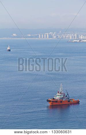 Boat In Valparaiso