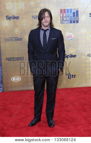 LOS ANGELES - JUN 4:  Norm Reedus at the 10th Annual Guys Choice Awards at the Sony Pictures Studios on June 4, 2016 in Culver City, CA