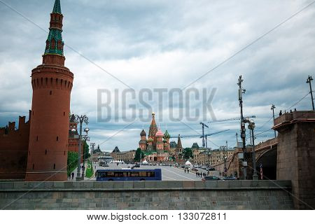 Red Square View
