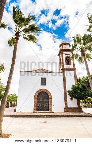 The Church of Nuestra Senora de Antigua - Antigua Fuerteventura Canary Islands Spain