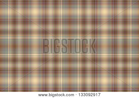 Illustration of brown and vanilla colored checkered pattern