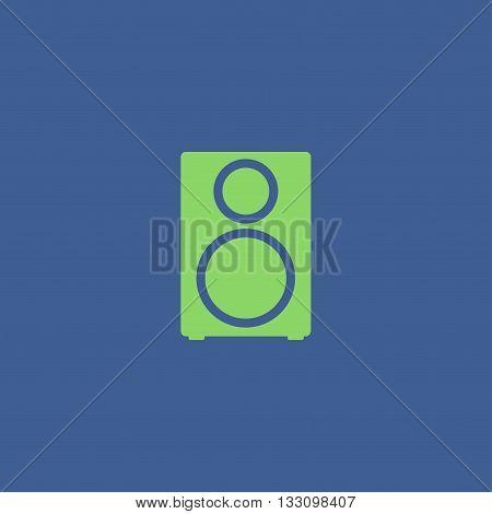 column - vector icon Flat design style eps 10
