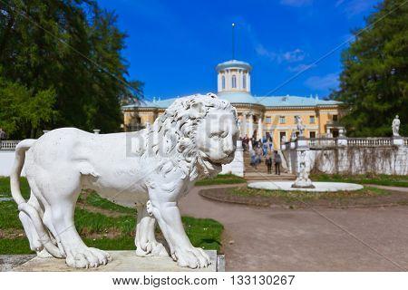 Sculpture in Museum-Estate Arkhangelskoye near Moscow - Russia