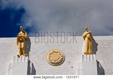 Male Female Statues