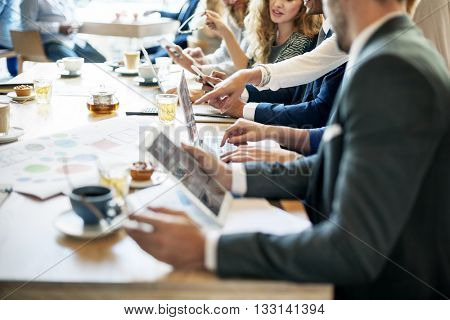 Business People Meeting Working Professional Concept