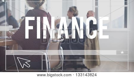 Finance Accounting Banking Investment Loan Concept