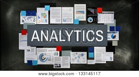 Analytics Statistics Analyze Data Analysis Patterns Concept