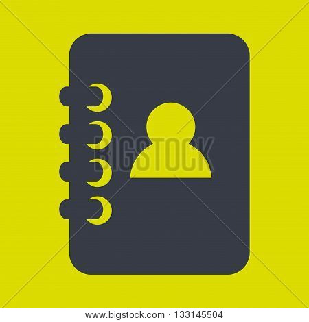 directory icon design, vector illustration eps10 graphic