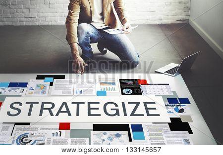 Strategy Strategic Tactics Planning Concept