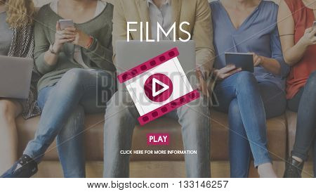 Films Camera Cinema Entertainment Frame Concept