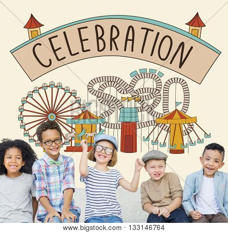 Celebration Event Festive Party Kids Concept