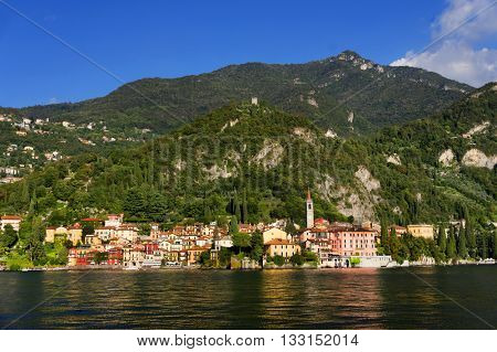 Lake Como in Italy, Europe