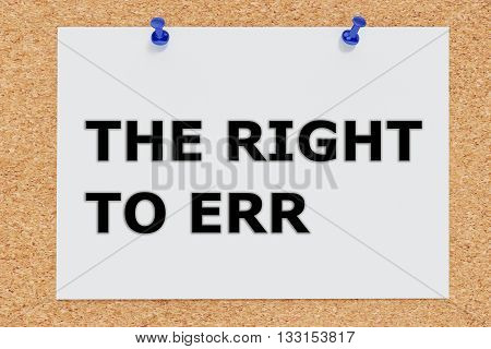 The Right To Err Concept