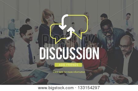 Diverse Business People Working Teamwork Cooperation Cityscape Conference