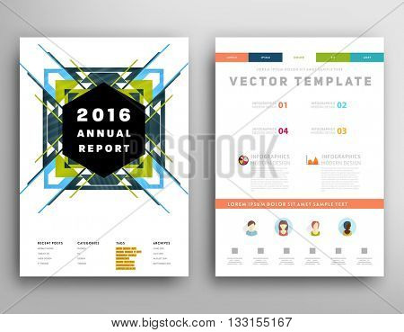 Abstract Background. Geometric Shapes and Frames for Presentation, Annual Reports, Flyers, Brochures, Leaflets, Posters, Business Cards and Document Cover Pages Design. A4 Title Sheet Template.