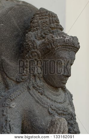 Head of The Bodhisattva Statue 8th - 10th century