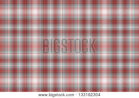 Illustration of white and red checkered pattern