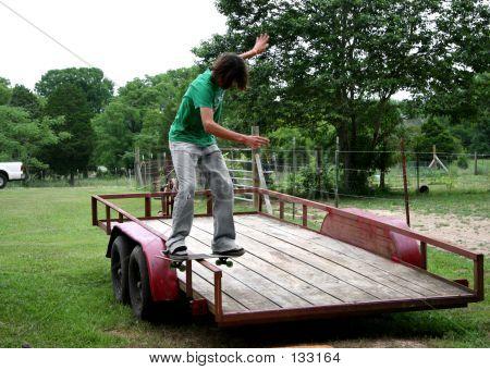 Board Sliding Trailor