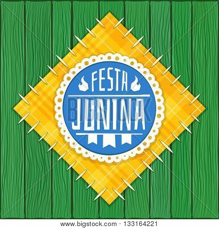 Festa Junina -  Brazilian  (June Party) Logo