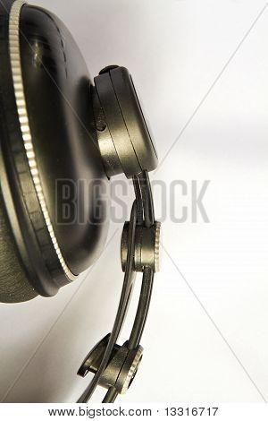 Professional headphones.