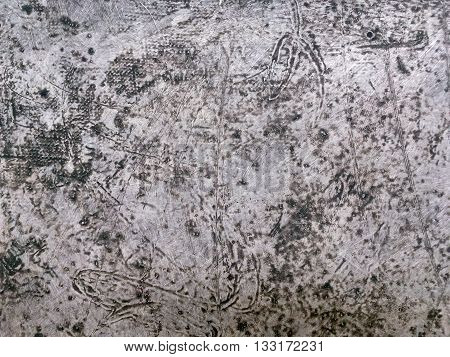Abstract Textured Hand Painted Canvas Backround