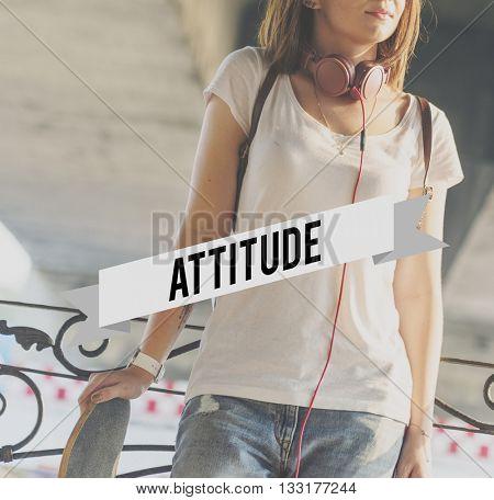 Attitude Perspective Thinking Ideas Opinion Reaction Concept