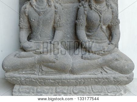 Hands and Feet of The Vishnu and Lakshmi Statue 8th - 10th century