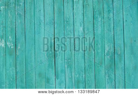 vntage  wood texture, blue background, retro fence