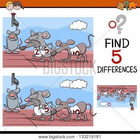 Preschool Differences Activity