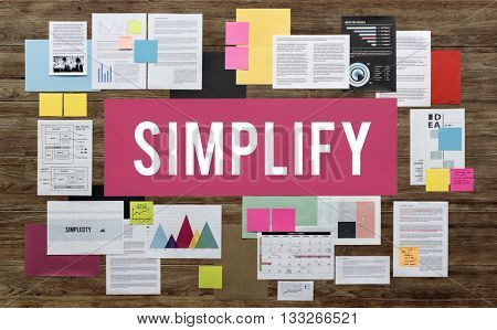 Documents Paperwork Business Strategy Concept poster